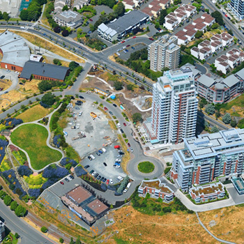 Saghalie Aerial at Bayview Place